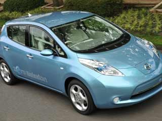 The 2011 Nissan LEAF. (©Ni
