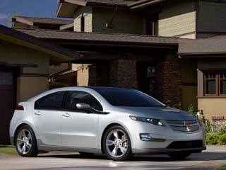 The 2011 Chevy Volt (©GM Corp.)