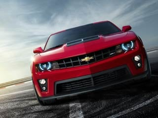 The 2012 Camaro ZL1 Sow Car (©GM Corp.)