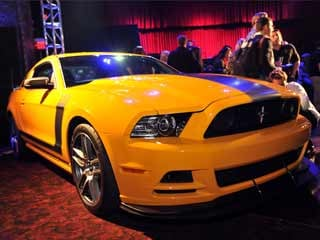 The 2013 Mustang Boss 302