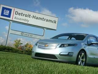 GM was involved in Saab's bankruptcy, the auto bailouts and Voltage in 2011. (&amp;copy;John F. Martin for General Motors Corp.)