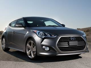 The 2013 Hyundai. Veloster Turbo (images &amp;copy;Hyundai Motor America)
