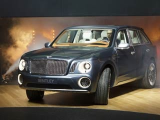 Bentley's EXP 9 F concept vehicle. (©Bentley Motors Limited)