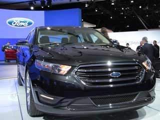 The 2013 Ford Taurus as seen at the 2011 New York Auto Show. (©Dan Meade)