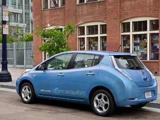 The 2012 Nissan Leaf (©Nissan)