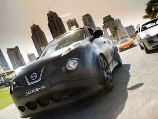 The production Juke-R will use the more powerful 545-horsepower engine from the latest 2013 GT-R. (©Nissan North America, Inc.)