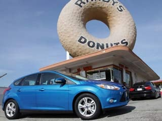 The 2012 Ford Focus (&amp;copy;Ford Motor Company)