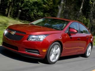 The 2012 Chevy Cruze LTZ (©General Motors/Steve Fecht)