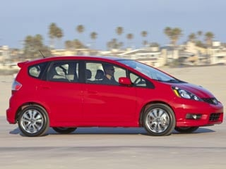 The 2012 Honda Fit Sport (&amp;copy;Honda)