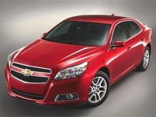 The 2013 Chevrolet Malibu Eco (©General Motors)