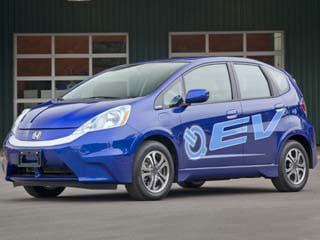 The 2013 Honda Fit EV (©Honda)