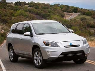 The 2012 Toyota RAV4 EV (©Toyota Motor Sales, U.S.A., Inc.)