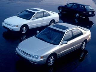 The 1994 Honda Accord family of vehicles. (&copyHonda)