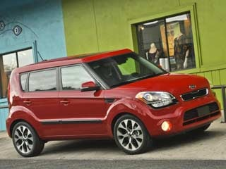 With its crisp design, nimble driving feel and lots of features for the money, style doesn't preclude value in the Soul. (&amp;copy;Kia Motors America, Inc.)