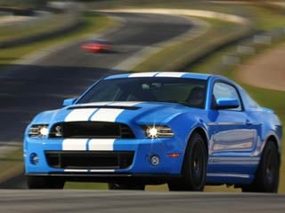 The 2013 Ford Shelby GT500 (©Ford Motor Company)