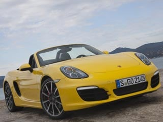 The 2013 Boxster S (©Porsche Cars North America, Inc.)