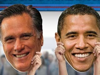 President Barack Obama did not respond specifically to Romney's criticism of Tesla and Fisker. (©PRNewsFoto/Fathead)