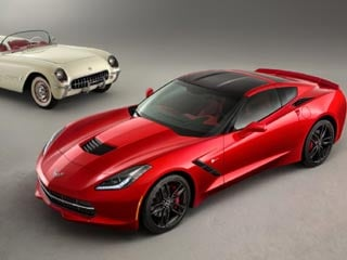 The 2014 Chevrolet Corvette Stingray. (©General Motors)