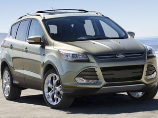 The 2013 Ford Escape suffered four different recalls after hitting the market in 2012. (© Ford Motor Co.)