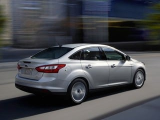 2013 Ford Focus sedan (© Ford Motor Co.)