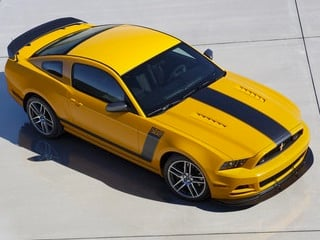 2013 Ford Mustang Boss 302 Laguna Seca (© Ford Motor Co.)