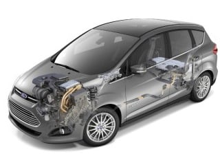 2013 C-Max Hybrid (©Ford Motor Co.)