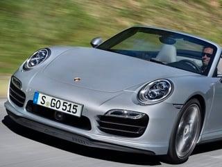 2014 Porsche 911 Turbo Cabriolet (© Porsche Automobil Holding SE)