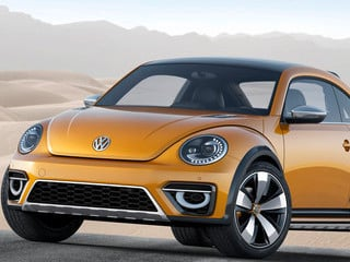 Volkswagen Beetle Dune Concept (© Volkswagen AG)