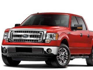 2014 Ford F-150 (© Ford Motor Co.)