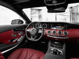 2015 Mercedes-Benz S-Class Coupe interior (© Daimler AG)