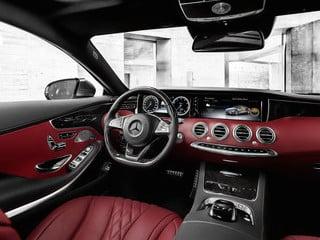 2015 Mercedes-Benz S-Class Coupe interior (© Daimler AG)