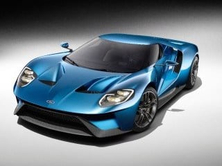 Ford GT supercar (Ford Motor Co.)