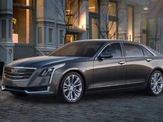 2016 Cadillac CT6 (©GM)